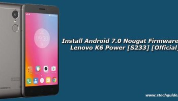 Install Android 7 0 Nougat Firmware on Lenovo P2 P2a42 [S232] [Official]
