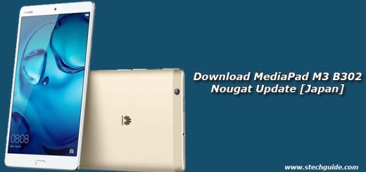 Download MediaPad M3 B302 Nougat Update [Japan]
