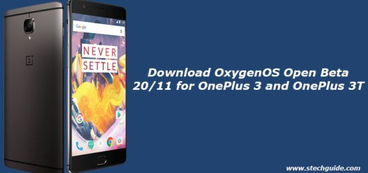Download OxygenOS Open Beta 20/11 for OnePlus 3 and OnePlus 3T
