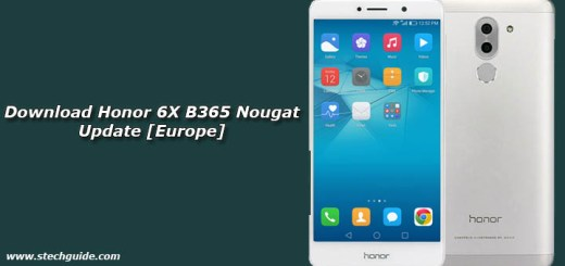 Download Honor 6X B365 Nougat Update [Europe]