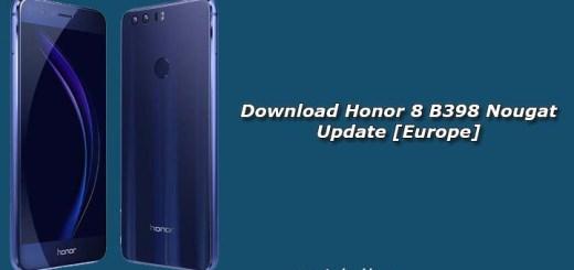 Download Honor 8 B398 Nougat Update [Europe]