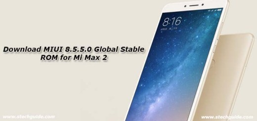 Download MIUI 8.5.5.0 Global Stable ROM for Mi Max 2