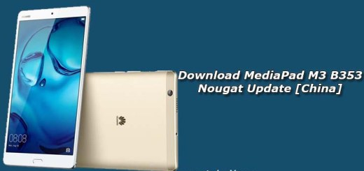 Download MediaPad M3 B353 Nougat Update [China]