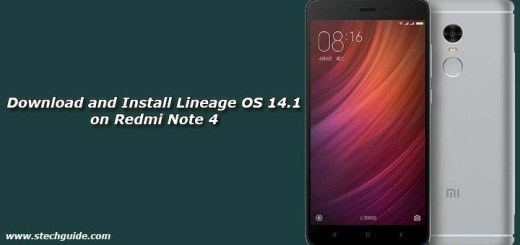 Download and Install Lineage OS 14.1 on Redmi Note 4