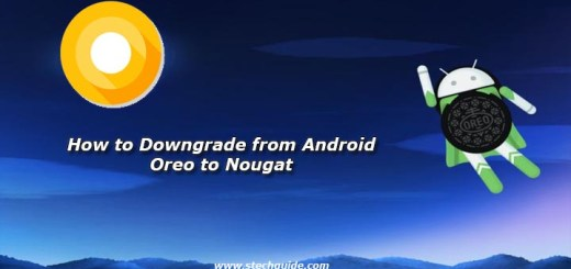 How to Downgrade from Android Oreo to Nougat
