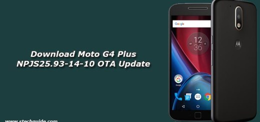 Download Moto G4 Plus NPJS25.93-14-10 OTA Update