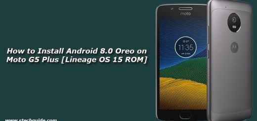 How to Install Android 8.0 Oreo on Moto G5 Plus [Lineage OS 15 ROM]