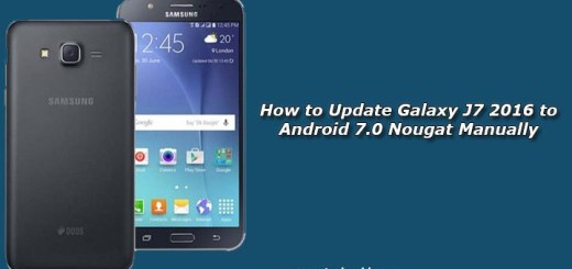 How to Update Galaxy J7 2016 to Android 7.0 Nougat Manually