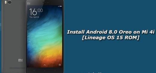 Install Android 8.0 Oreo on Mi 4i [Lineage OS 15 ROM]