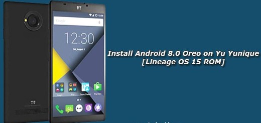 Install Android 8.0 Oreo on Yu Yunique [Lineage OS 15 ROM]