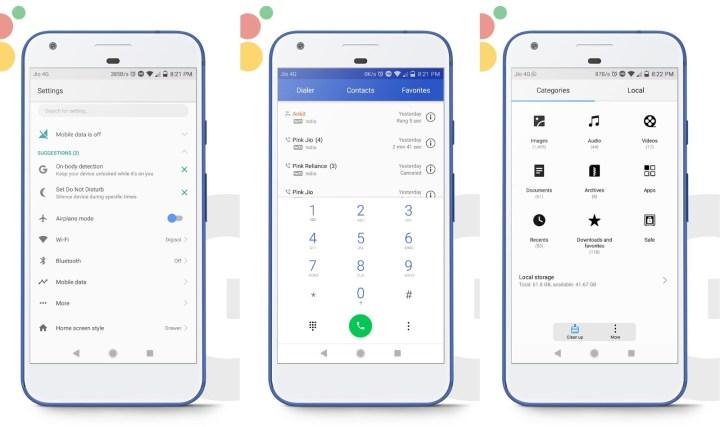 Google Pixel 2 Theme