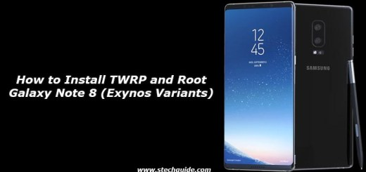 How to Install TWRP and Root Galaxy Note 8 (Exynos Variants)