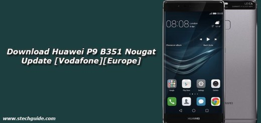 Download Huawei P9 B351 Nougat Update [Vodafone][Europe]