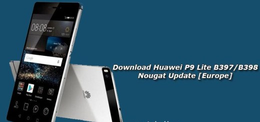 Download Huawei P9 Lite B397/B398 Nougat Update [Europe]