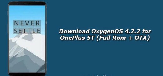 Download OxygenOS 4.7.2 for OnePlus 5T (Full Rom + OTA)