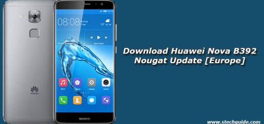 Download Huawei Nova B392 Nougat Update [Europe]