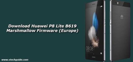 Download Huawei P8 Lite B619 Marshmallow Firmware (Europe)