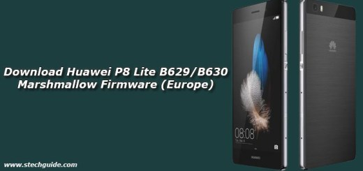 Download Huawei P8 Lite B629/B630 Marshmallow Firmware (Europe)