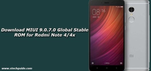Download MIUI 9.0.7.0 Global Stable ROM for Redmi Note 4/4x