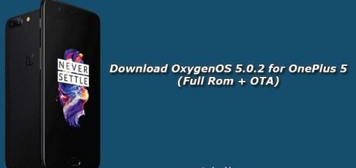 Download OxygenOS 5.0.2 for OnePlus 5 (Full Rom + OTA)