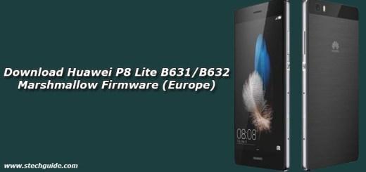 Download Huawei P8 Lite B631/B632 Marshmallow Firmware (Europe)