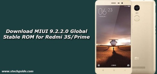 Download MIUI 9.2.2.0 Global Stable ROM for Redmi 3S/Prime