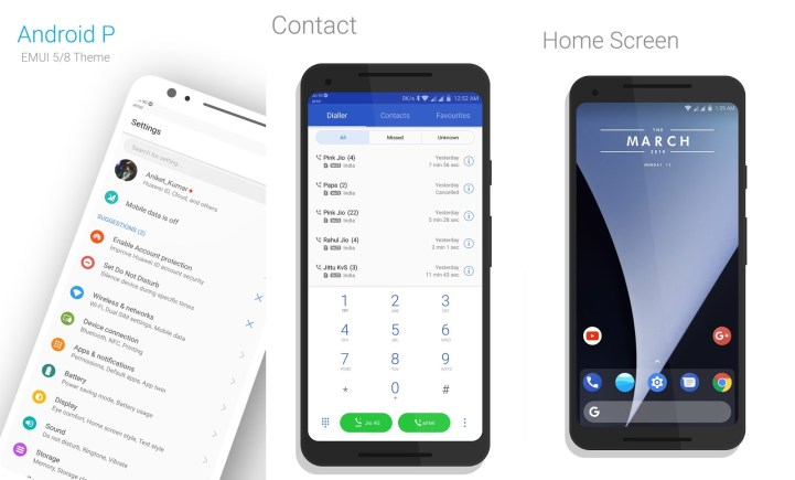 Android P Theme