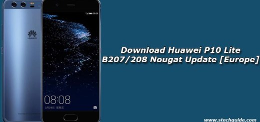 Download Huawei P10 Lite B207/208 Nougat Update [Europe]