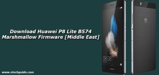 Download Huawei P8 Lite B574 Marshmallow Firmware [Middle East]