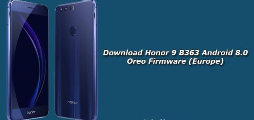 Download Honor 9 B363 Android 8.0 Oreo Firmware (Europe)