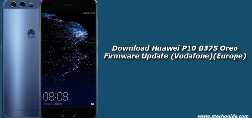 Download Huawei P10 B375 Oreo Firmware Update (Vodafone)(Europe)