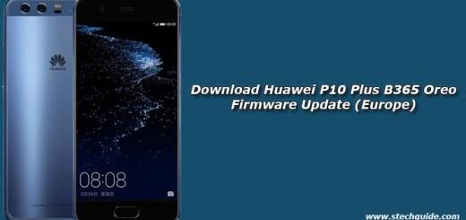 Download Huawei P10 Plus B365 Oreo Firmware Update (Europe)