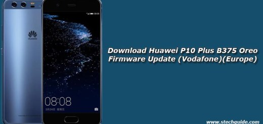 Download Huawei P10 Plus B375 Oreo Firmware Update (Vodafone)(Europe)