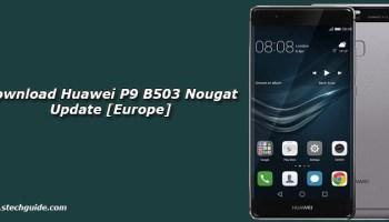 Download Huawei P9 B504 Nougat Update [Europe]