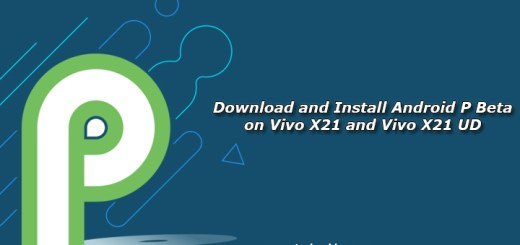 Download and Install Android P Beta on Vivo X21 and Vivo X21 UD