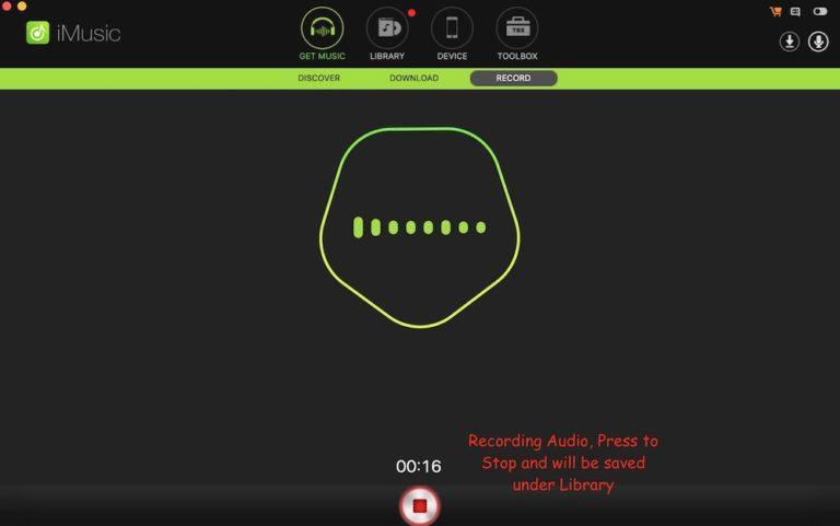 grabar música o audio de YouTube en Mac