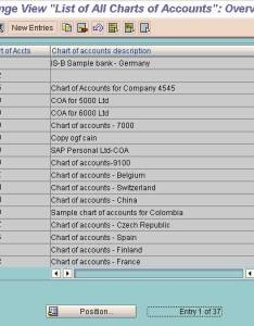 Define chart of accounts also in sap fico rh stechies
