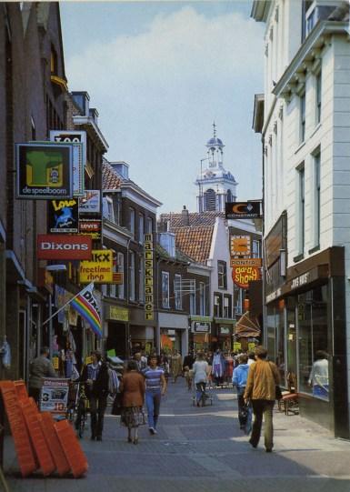 Gebr. Spanjersberg, Hoogstraat, 1981. Collectie Gemeentearchief Schiedam