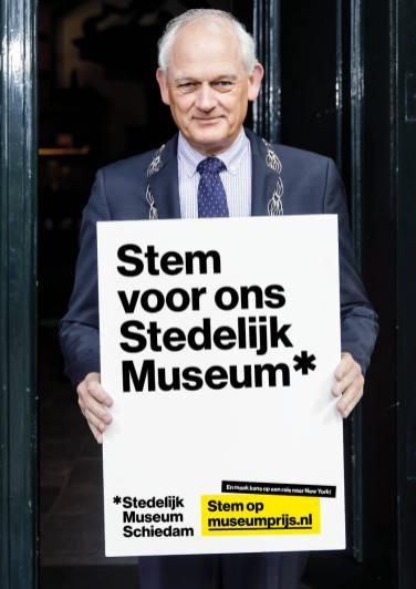 Cor Lamers, burgemeester van Schiedam