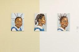 Divers werk van Esiri Erherienne-Essi. Fotografie: Aad Hoogendoorn