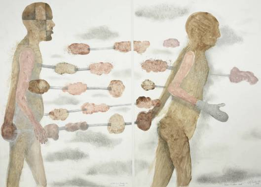 Sjef Henderickx, Homo Ludens Saté, 2009, uit de serie Hommage aan, collectie kunstenaar