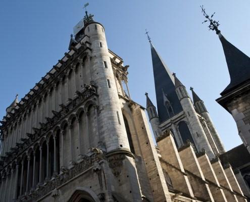 Eglise Notre Dame kerk dijon bourgondie gevel