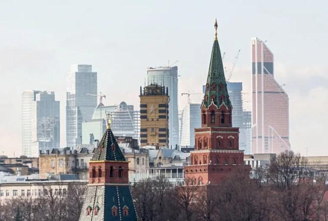Moskou skyline