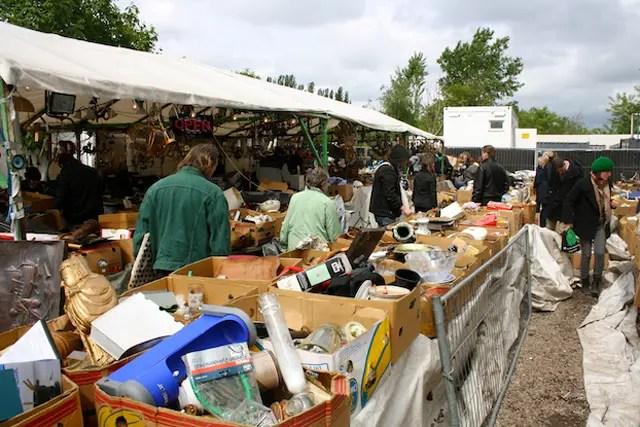 Mauerpark markt