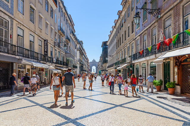 Lissabon Rua Augusta