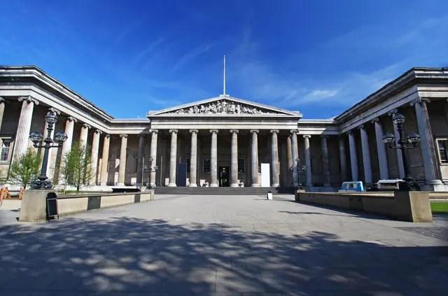 The British Museum Facade