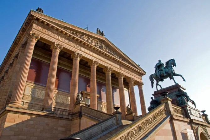 Berlijn Alte Nationalgalerie