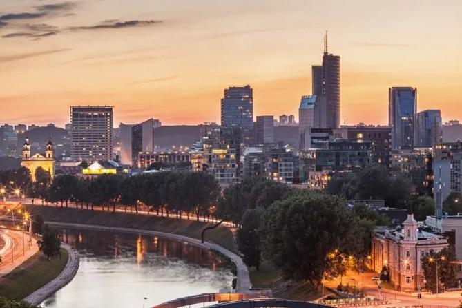 Vilnius - Modern, Financial District