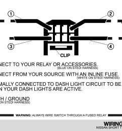 nissan push switch wiring diagram [ 1847 x 1280 Pixel ]