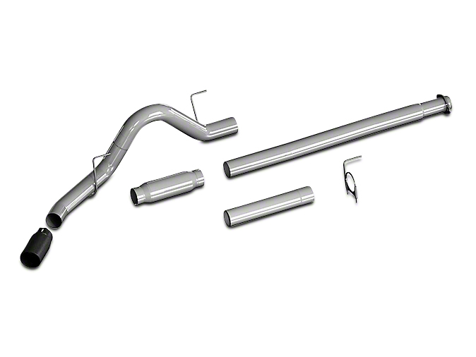 flowmaster 817756 f 150 2 7l 3 5l ecoboost outlaw cat back exhaust system single side exit 2015 2020